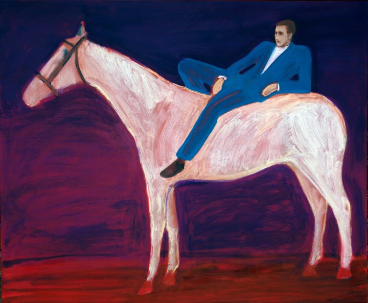 "õlimaal ""Prints valgel hobusel\"" / oil painting \""Prince on the white horse\"""