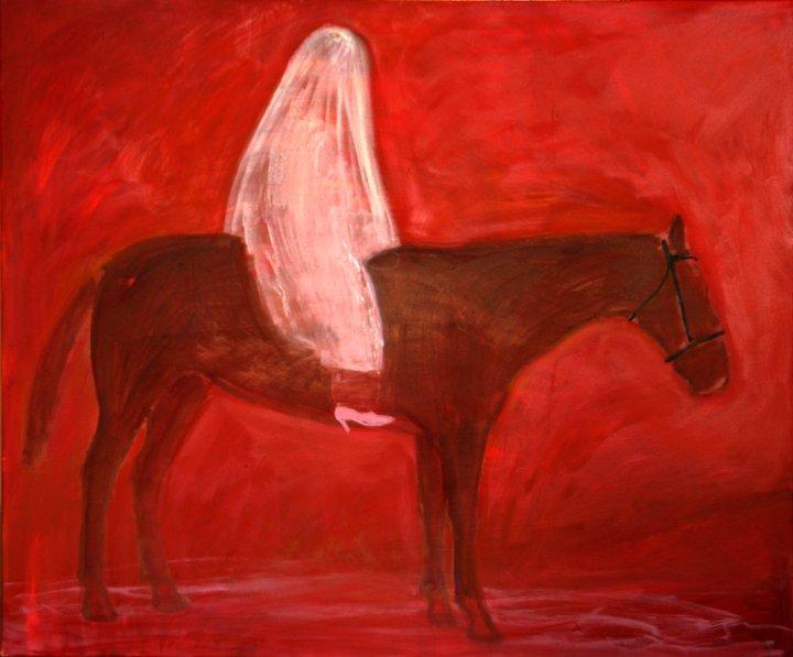 """õlimaal \""""Häbelik pruut\"""" / oil painting \""""Shy bride\"""""""