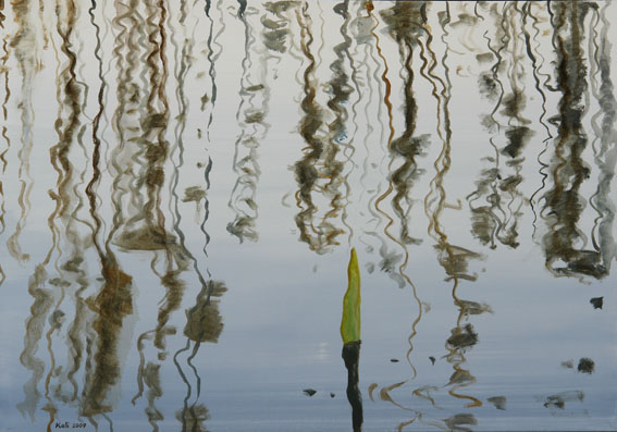 """õlimaal \""""Peegeldused II\"""" / oil painting \""""Reflections II\"""""""