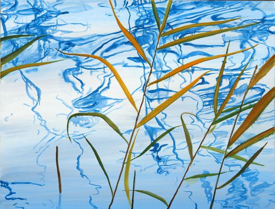 """õlimaal \""""Suvesinine III\"""" / oil painting \""""Summerblue III\"""""""