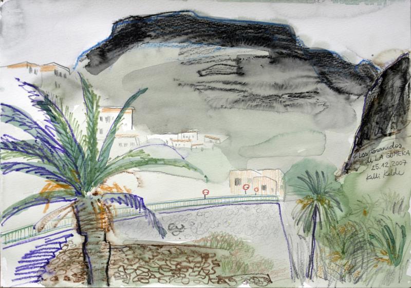 La Gomera, Los Grandos