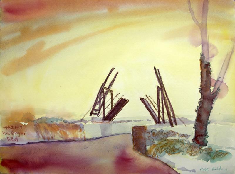 Van Goghi sild Arles
