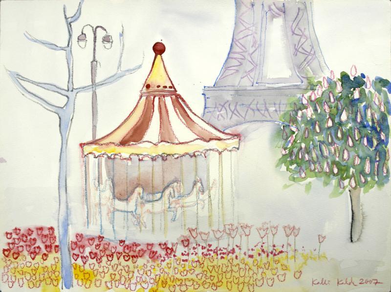 Pariis, kevad