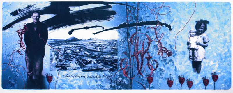 "lito \""Külmunud unistused, Vorkuta 1955\"" / \""Frozen Dreams, Vorkuta 1955\"" algraphy"
