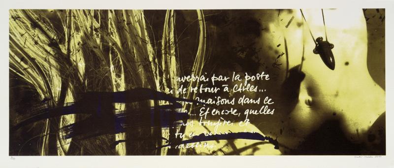 "lito \""Vincenti kiri Vahemere äärest, 1888.a. II\"" / \""Vincent\'s letter from Mediterranean 1888\"" II, algraphy"