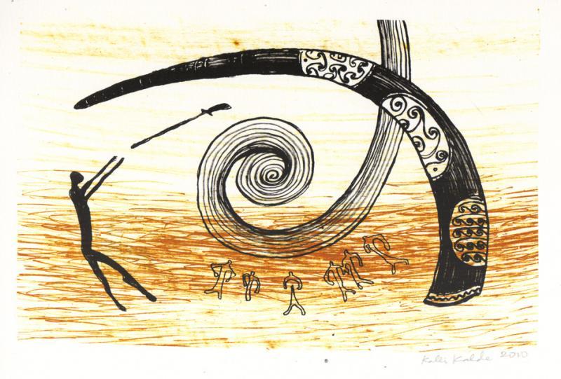 "lito \""Piraadi sarv\"" / \""Pirate\'s horn\"" algraphy"