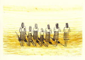 "lito \""Seitse õde\"" / \""Seven Sisters\"" algraphy"