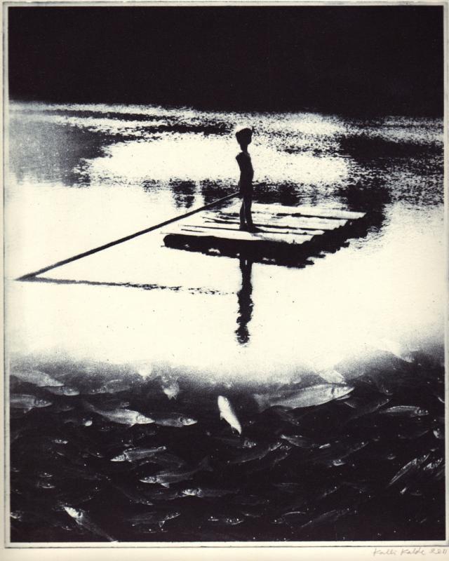 """imagon \""""Poiss parvel\"""" / \""""On the lake\"""""""