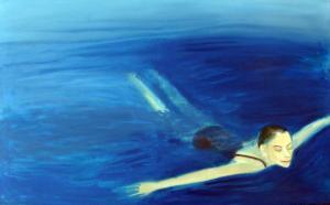 """õlimaal \""""Sinine\"""" / oil painting \""""Blue Haven\"""""""