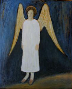 "õlimaal \""Ingel\"" / oil painting \""The Angel\"""