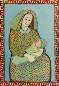 """õlimaal \""""Väike madonna\"""" / oil painting \""""Madona\"""""""