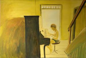 """õlimaal \""""Suveetüüd\"""" / oil painting \""""Summer etude\"""""""