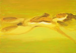 """õlimaal \""""Suvekollane\"""" / oil painting \""""Summer\"""""""