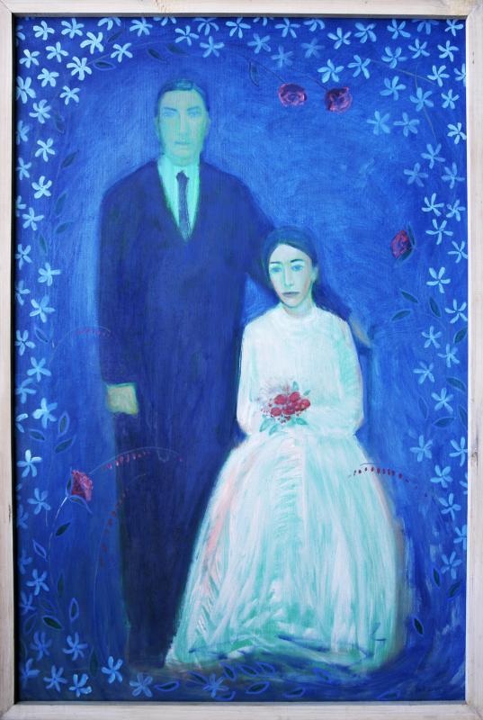 """õlimaal \""""Pulmapilt\"""" / oil painting \""""Marriage\"""""""