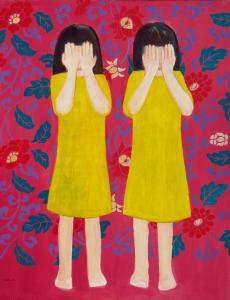 """õlimaal \""""Häbelikud\"""" / oil painting \""""Shy\"""""""