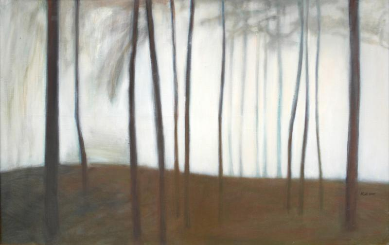 "õlimaal ""Udune päev\"" / oil painting \""Foggy day\"""