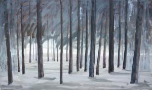 """õlimaal """"Talvine mets"""""""