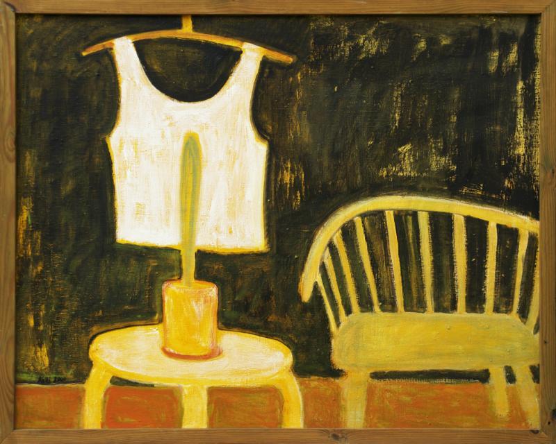 """õlimaal \""""Veranda\"""" / oil painting \""""Veranda\"""""""