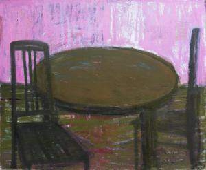 "õlimaal \""Õhtune vaikelu\"" / oil painting \""Evening still life\"""